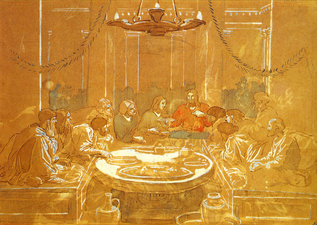 The Last Supper, 1824