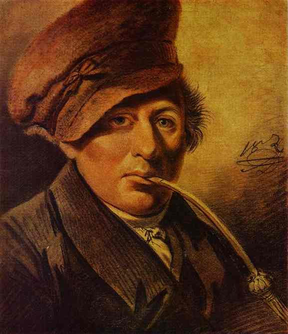 Portrait of K. I. Seidel, 1820