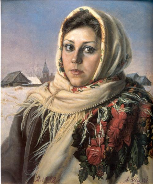 Russian Beauty, 1992 - Alexander Shilov