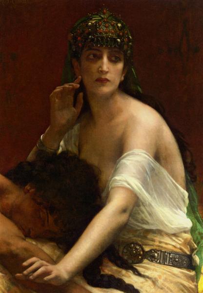 Samson and Delilah, 1878 - Alexandre Cabanel