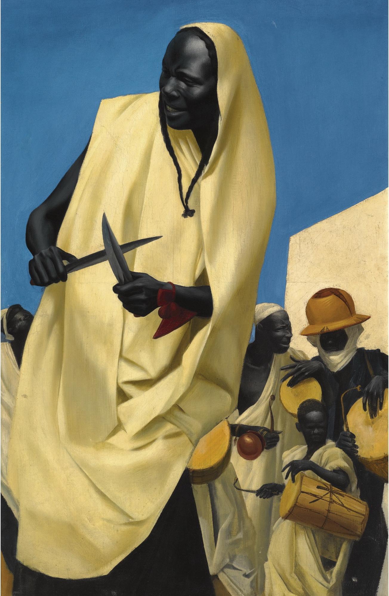 The Kuli-Kuta Dance, Niamey, 1926