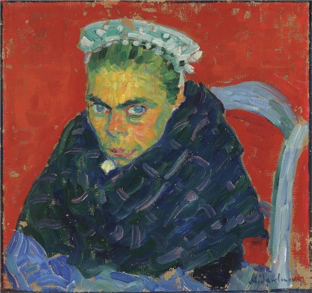 Bretonische Bäuerin, 1905 - Alexej von Jawlensky