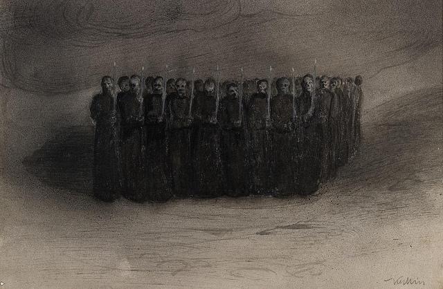Black Mass, 1905 - Alfred Kubin