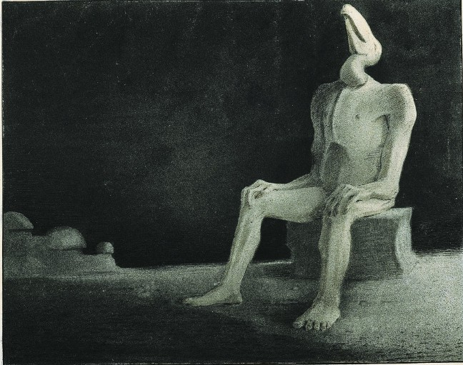The Past (forgotten-swallowed), 1901 - Alfred Kubin