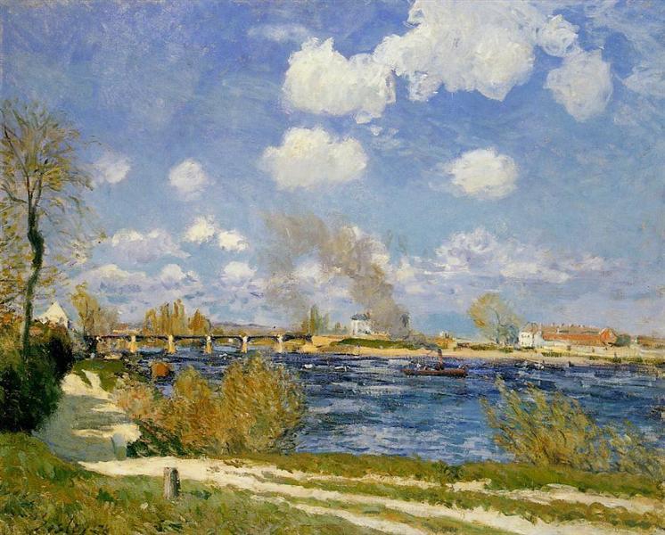 Bougival, 1876 - Alfred Sisley