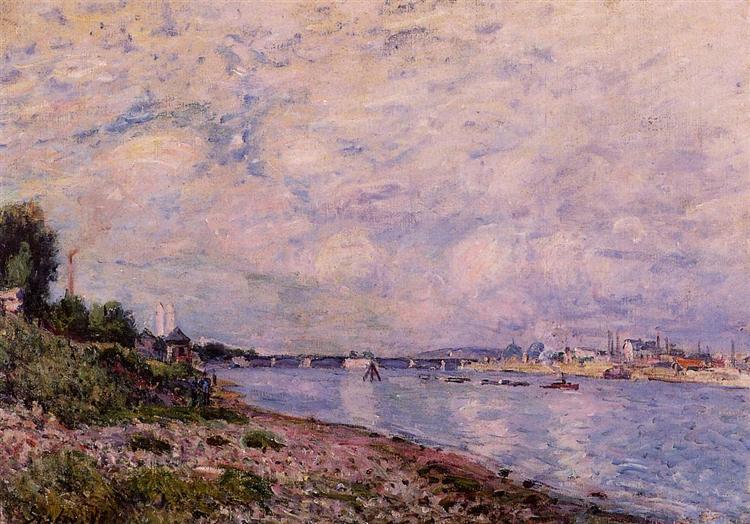 Bougival, 1878 - Alfred Sisley