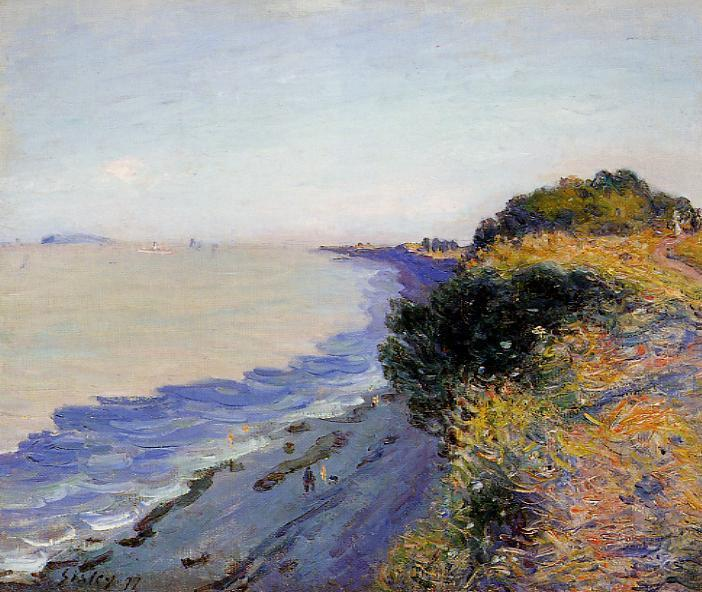Bristol Channel from Penarth, Evening, 1897 - Alfred Sisley