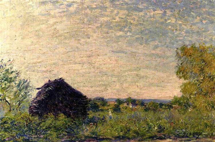 Haystack, 1877 - Alfred Sisley