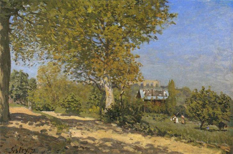 Near Louveciennes, 1874 - Alfred Sisley