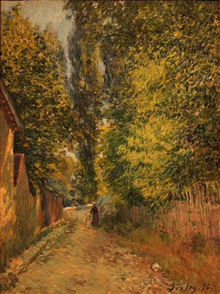 Near Louveciennes, 1876 - Alfred Sisley