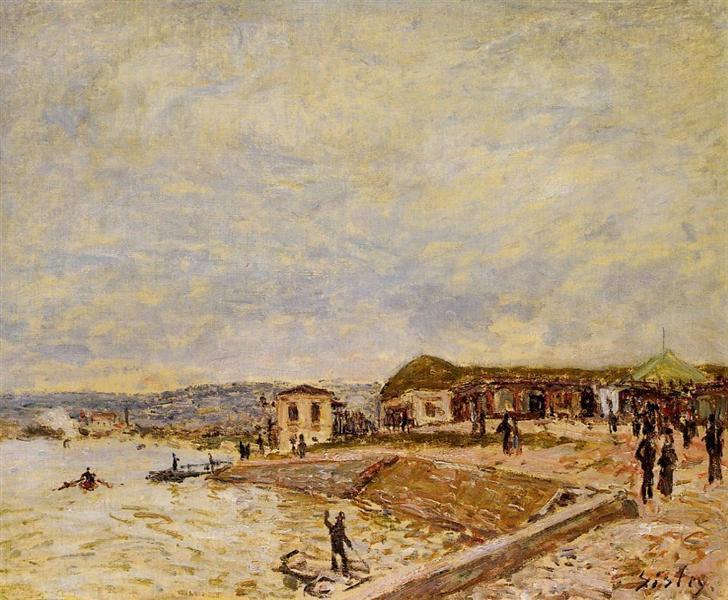 Seine at Daybreak, 1878 - Alfred Sisley