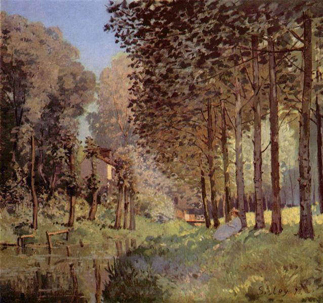 Therestbesided`unCreek, 1872 - Alfred Sisley