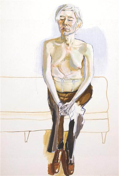 Andy Warhol, 1970 - Alice Neel