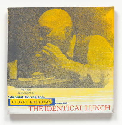 George Maciunas Performs The Identical Lunch, 1969 - Alison Knowles