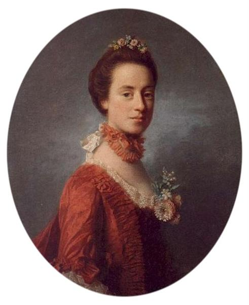 Mary Digges (1737-1829) Lady Robert Manners - Аллан Рэмзи
