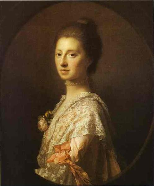 Portrait of Anne Bruce, Mrs. Bruce of Arnot, c.1765 - Аллан Рэмзи