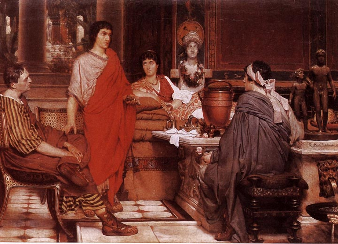 Lawrence Alma-Tadema - Page 2 Catullus-at-lesbia-s-1865