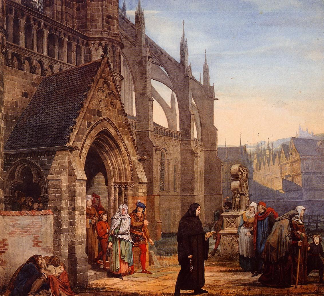 Faust and Marguerite, 1857