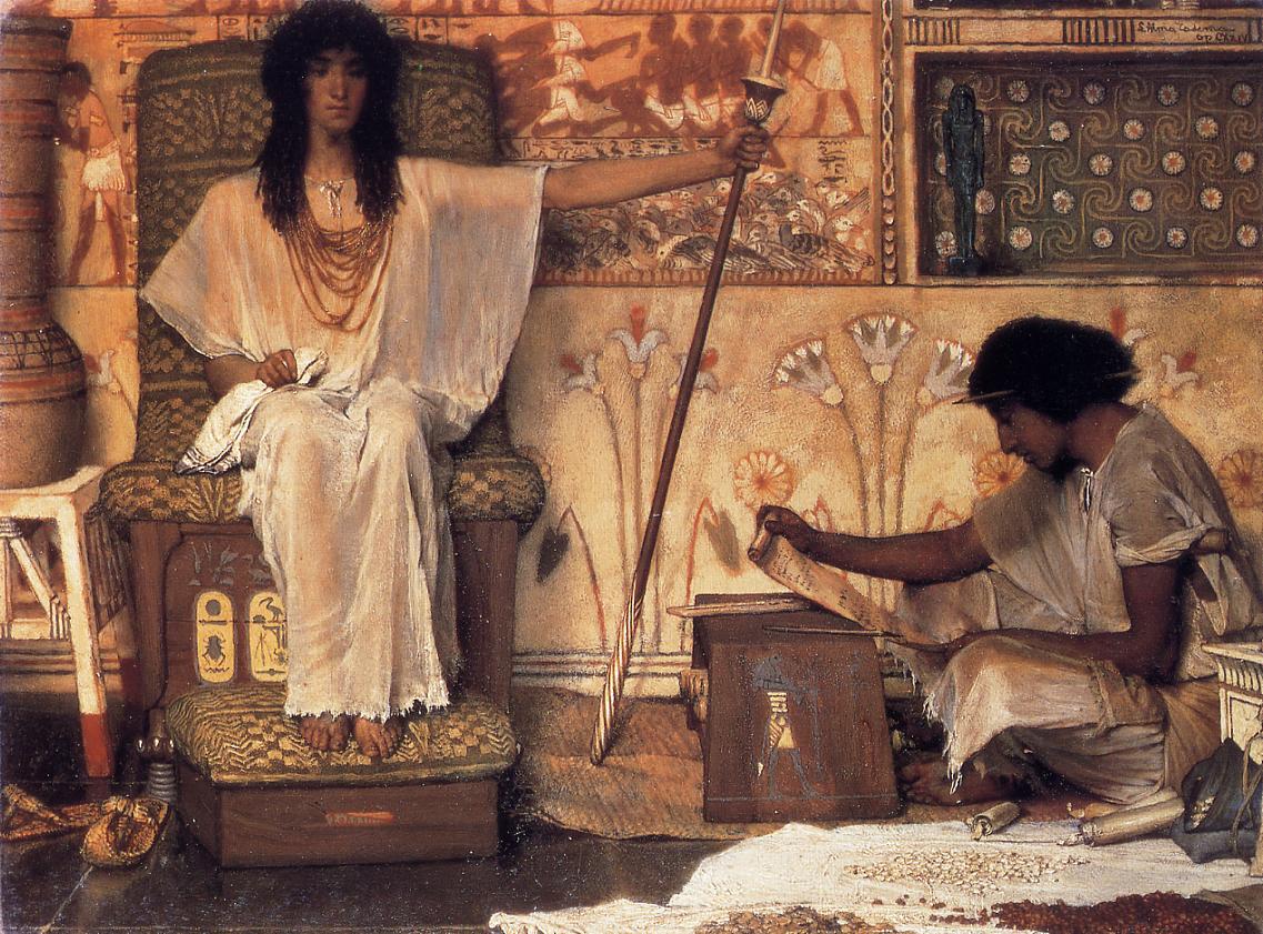 Joseph, Overseer of Pharaoh`s Graneries, 1874