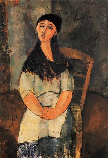 Little Louise, 1915 - Amedeo Modigliani