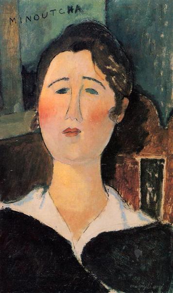 Minoutcha, c.1917 - Amedeo Modigliani