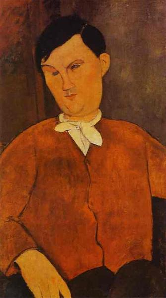 Monsier Deleu, 1916 - Amedeo Modigliani