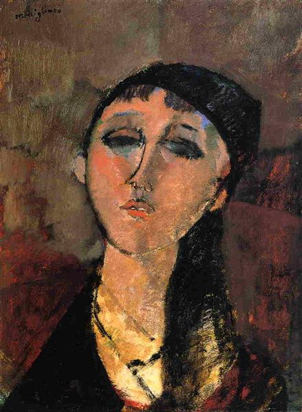 Portrait of a Young Girl (Louise), 1915 - Amedeo Modigliani