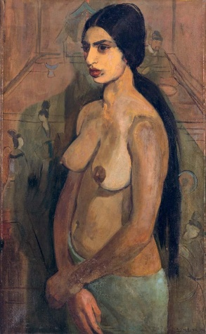 Self Portrait as Tahitian, 1934 - Amrita Sher-Gil
