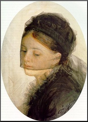 In mourning, 1880 - Anders Zorn