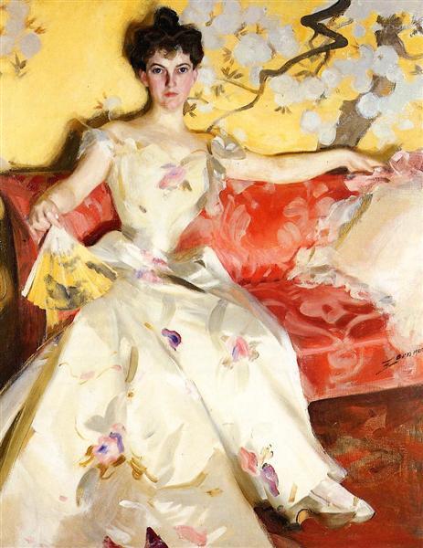 Portrait of Elizabeth Sherman Cameron, 1900 - Anders Zorn