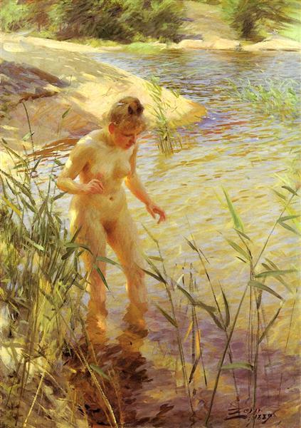 Reflexions, 1889 - Anders Zorn