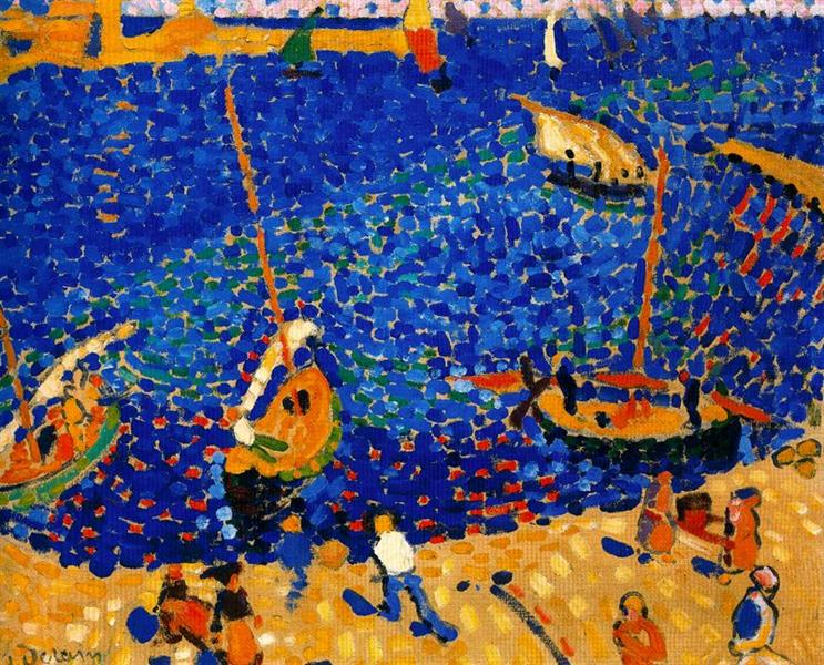 Boats at Collioure, 1905 - Andre Derain