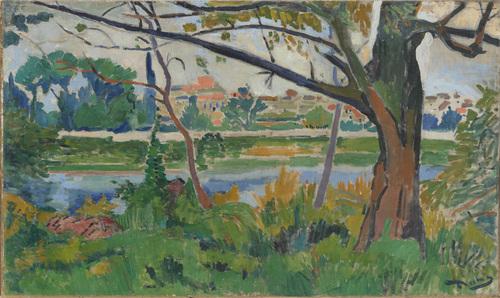The Seine at Chatou, 1906 - Andre Derain