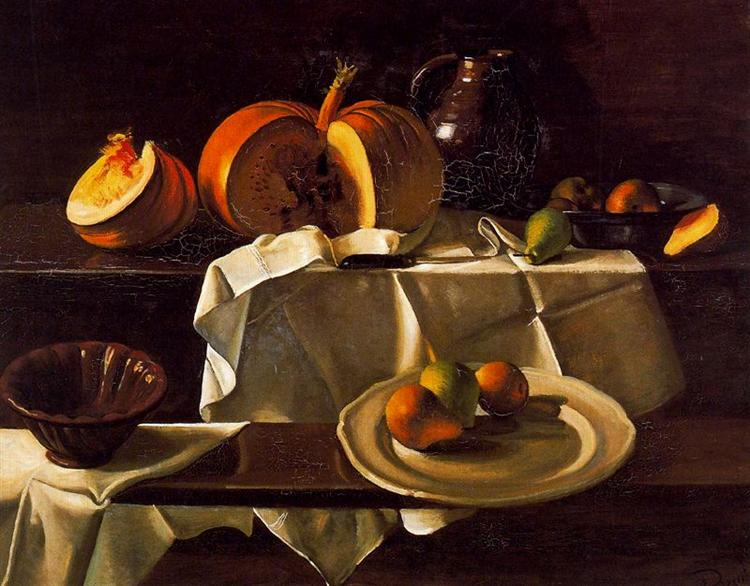 The Still life with Pumpkin, 1939 - Andre Derain