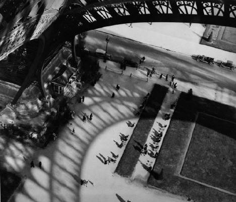 Eiffel Tower, Paris, 1929 - Andre Kertesz