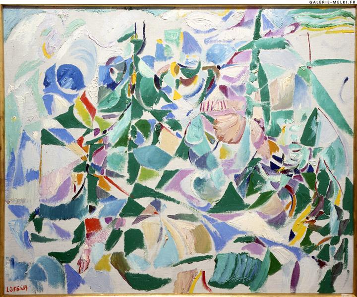 Untitled, 1959 - Андрей Ланской
