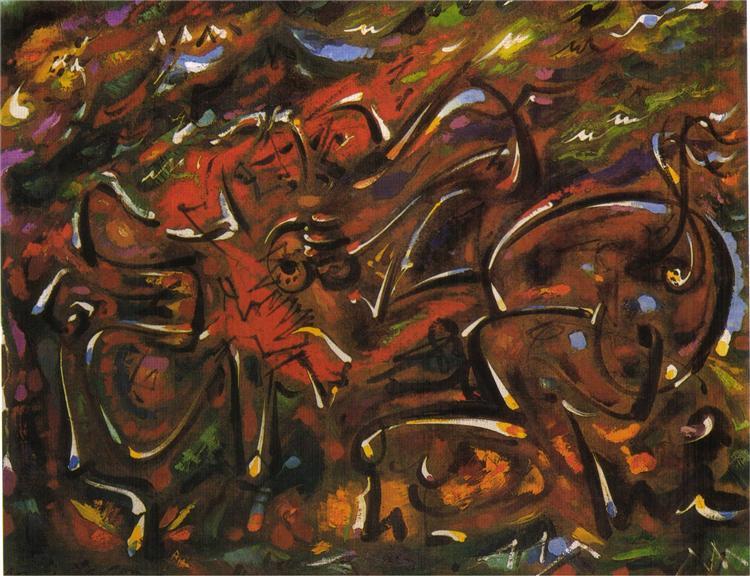 Games Centaurs, 1961 - André Masson
