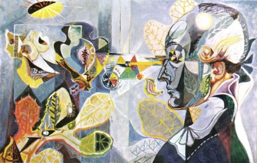 Goethe or the metamorphosis of plants, 1940 - André Masson