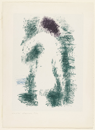 Green Nude, 1956 - Andre Masson