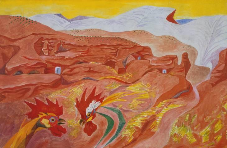 Ibdes in Aragon, 1935 - Andre Masson