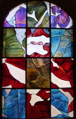 Les vitraux de la Chapelle de St Raphaël, 2008 - Andre-Pierre Arnal