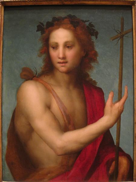 St. John the Baptist, c.1517 - Andrea del Sarto