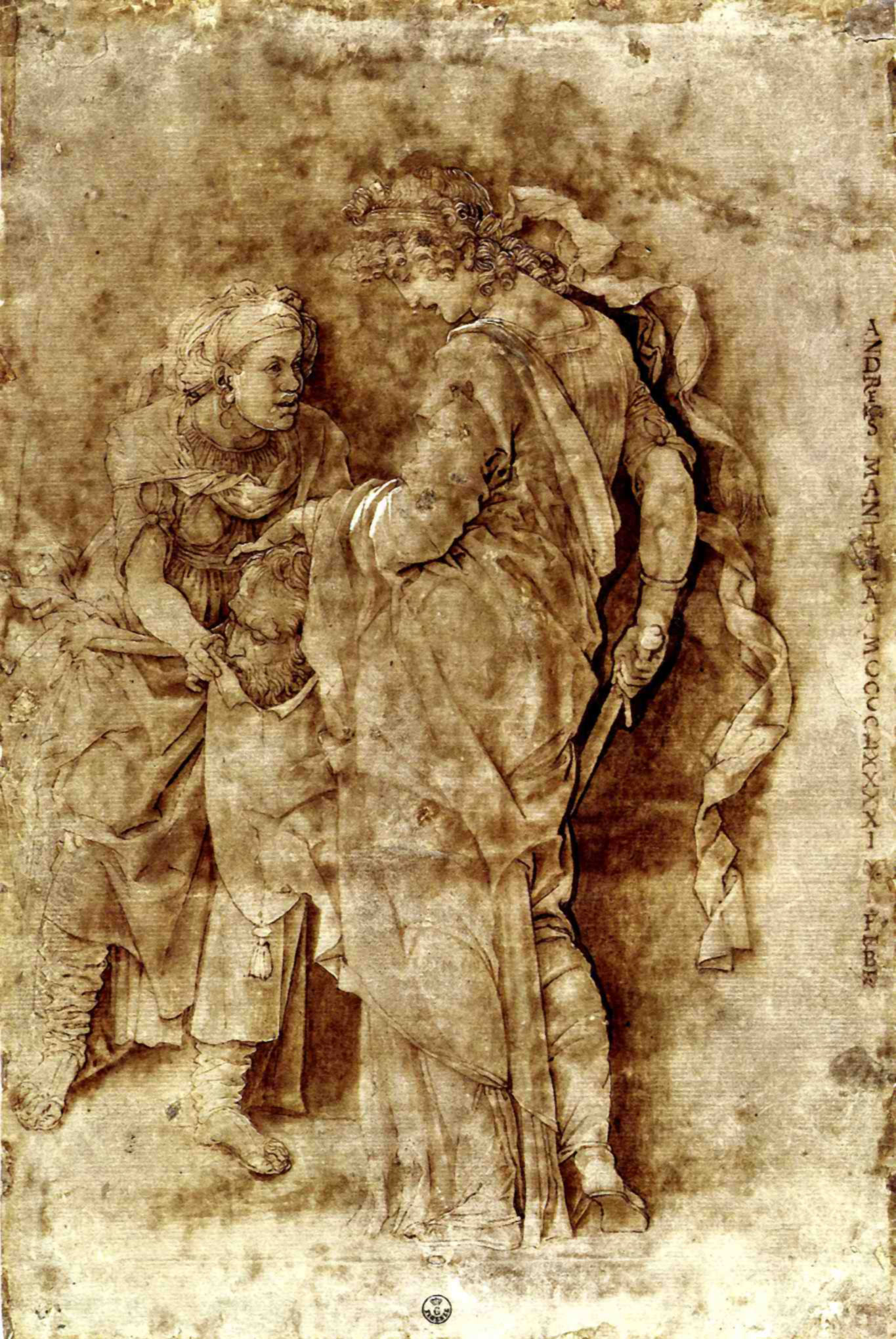 Judith with the Head of Holofernes - Andrea Mantegna ...