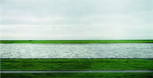 Rhine II, 1999 - Andreas Gursky