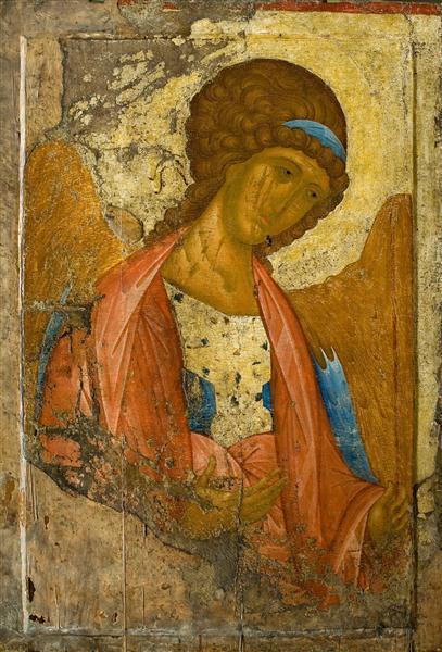 Archangel Michael, 1414 - Andrei Rublev