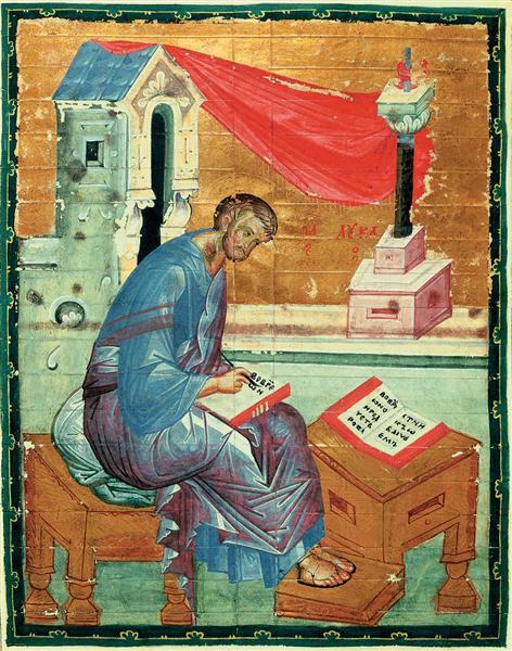 St. Luke the Evangelist, c.1400 - Andrei Rublev