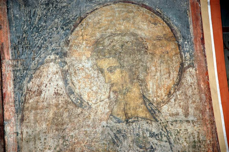 The Last Judgement: Trumpeting Angel, 1408 - Andrei Rublev