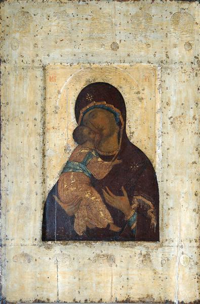 The Virgin of Vladimir - Andrei Rublev