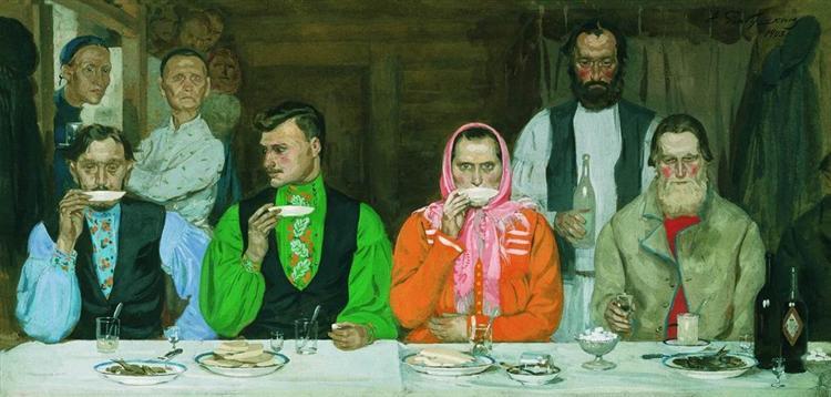 Tea Party, 1903 - Андрей Рябушкин