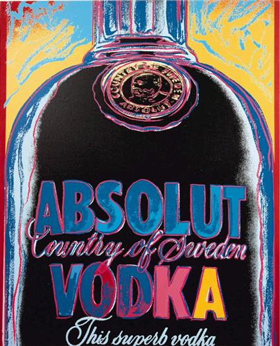 Absolut Vodka - Andy Warhol